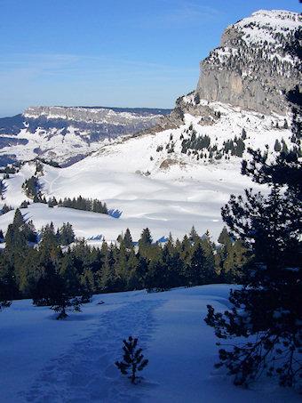 Col de l'Alpette, Mont Granier, Mont Outheran