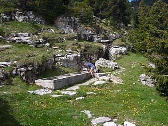 La Fontaine Neuve sur le plateau du Mont Granier