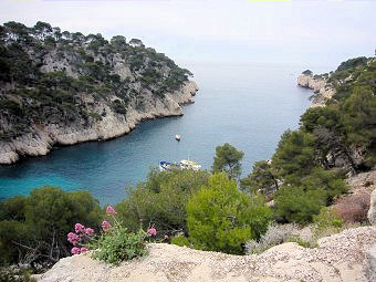 La calanque de Port-Pin