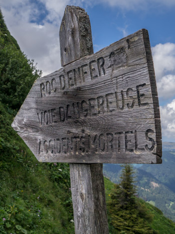 Direction du Roc d'Enfer…